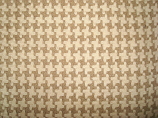 Linen Cotton Yarn Dyed Jigsaw Check Fabric pictures & photos