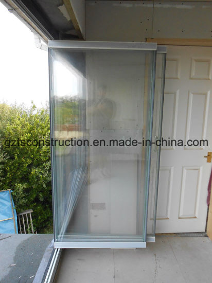 China Frameless Glass Folding Door Lowes Glass Interior Folding