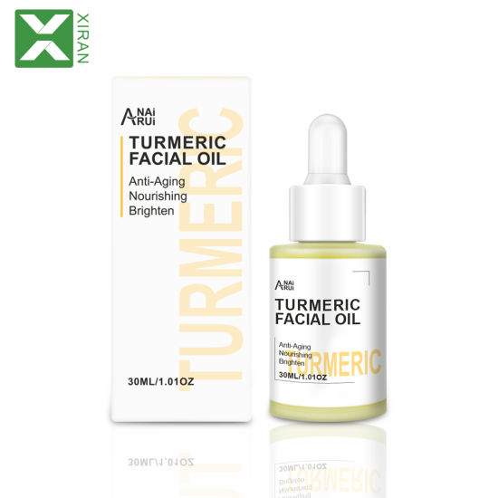 OEM Private Label Pure Organic Anti Aging Anti Acne Essential Turmeric Face Oil for Skin Care