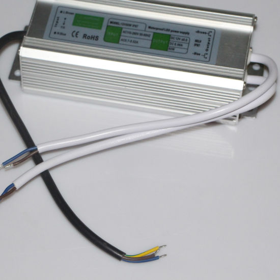 DC30-80V DC28W IP67 Waterproof LED Power Supply pictures & photos