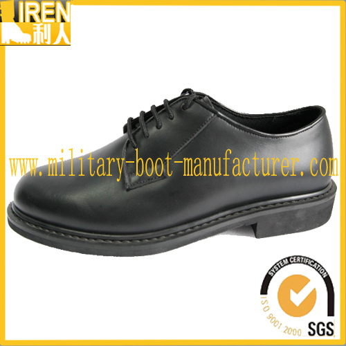 Black Cheap Price Police Office Shoes