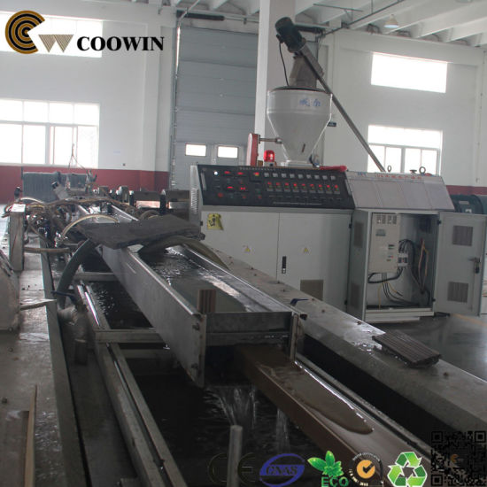 Promotional PE PP PVC WPC Board Extrusion Line pictures & photos