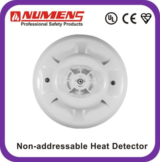 Low-Profile Intelligent, 12V/ 24V Heat Detector, UL/En54 Approved Heat Detector (HNC-310-H2) pictures & photos