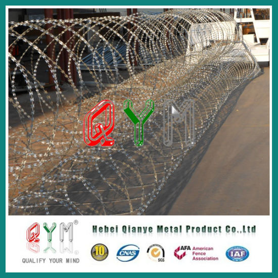 China Pyramid Type Razor Wire Barrier/ Razor Wire Mobile Security ...