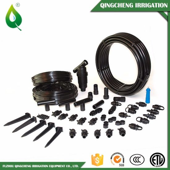 Black 0.6MPa PVC Layflat Watering Irrigation Hose Pipe pictures & photos