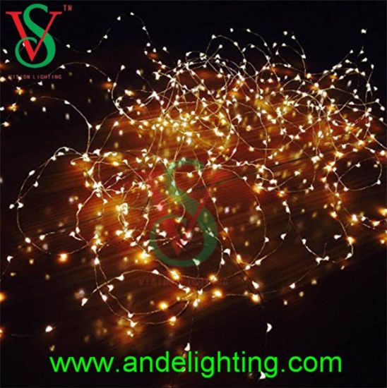 led copper wire string lights for outdoor christmas decoration - Outdoor Christmas Decorations Wire