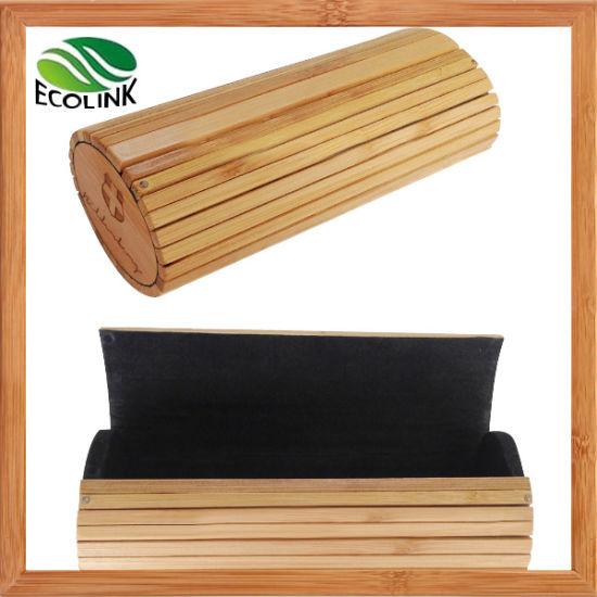 Wooden Bamboo Sunglasses Case Eyewear Glasses Box