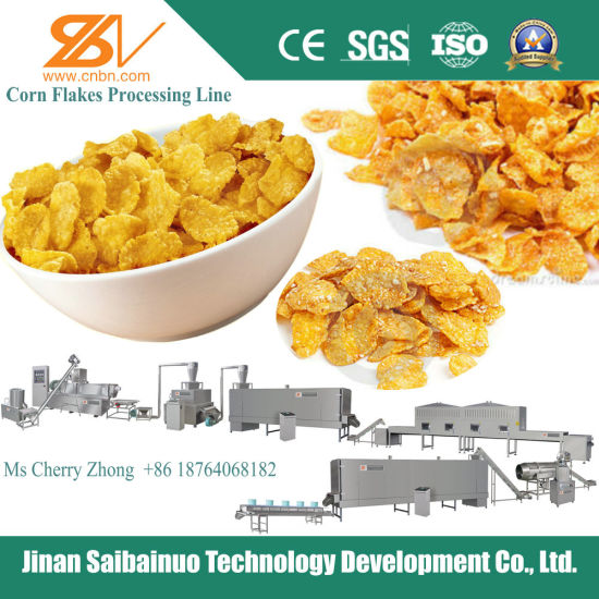 Breakfast Cereals Choco Flakes Machines/Production Line/Extruder pictures & photos