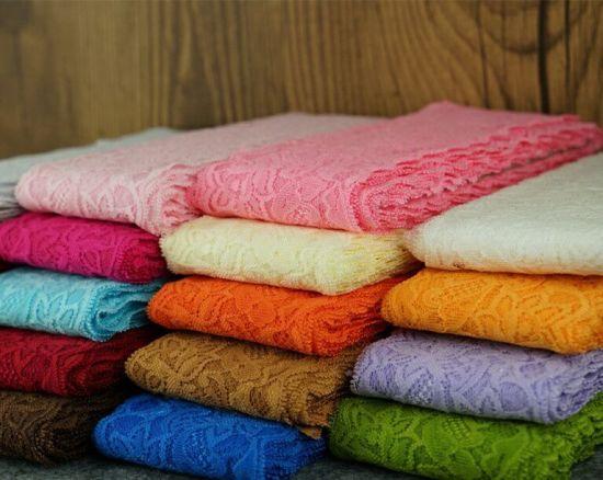 30 Colors 8cm Wholesale Nylon Elastic Stretch Lace for Lingerie