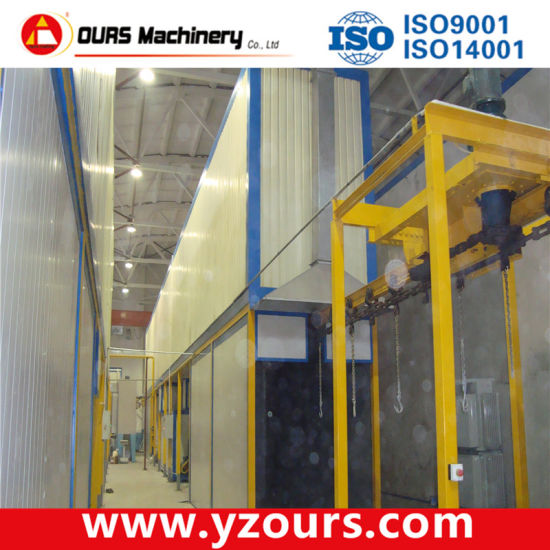Transformer Powder Coating Line pictures & photos