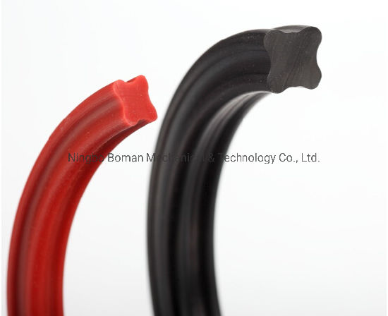 NBR O Ring X Ring Gasket Rubber Molded Parts O-Ring for Hydraulic Motor