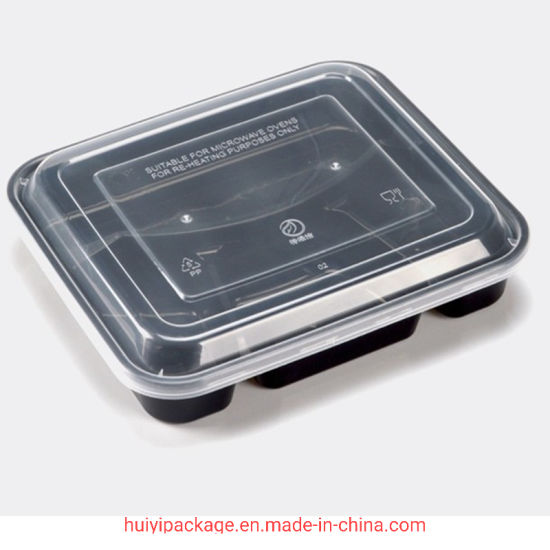 Pp Plastic Food Container Packaging Luch Takeaway Box