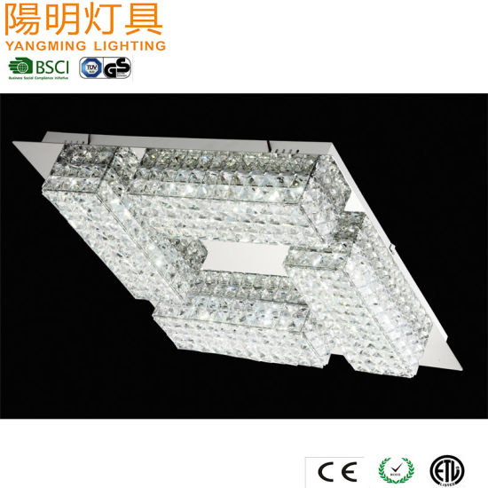 Modern Chrome Finish Crystal LED Chandelier for Living Room / Lobby/ Restaurant pictures & photos