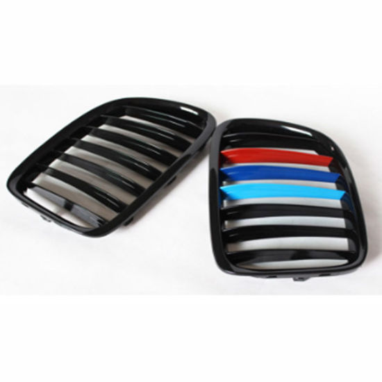 Car Tuning Front Hood Grille for BMW X1 Series