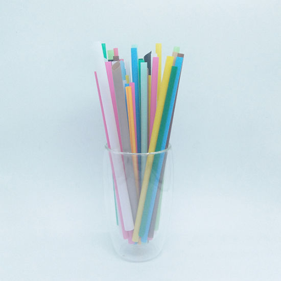 Disposable /Biodegradable/Compostable White/Black/Green Red PLA Drinking Straws pictures & photos