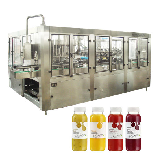 Good Price Automatic Orange Mango Fruit Juice Making Machine 500ml Plastic Bottles Beverage Bottling Packing Machine
