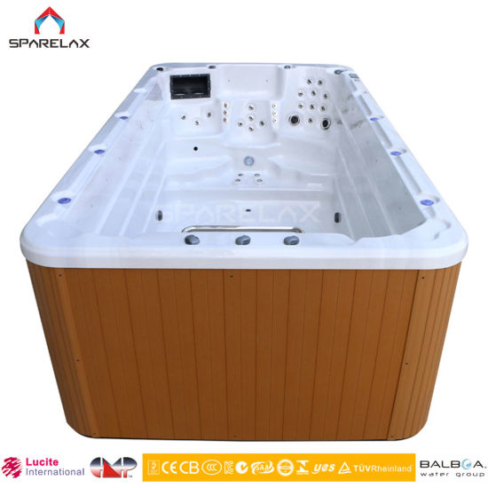 Sparelax Factory Price Outdoor SPA Swimming Pool Swim SPA Hot Tub Jacuzzi  Bathtub 4D20