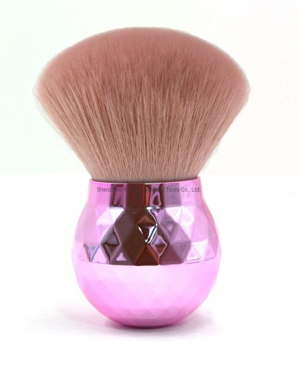 Pink Kabuki Brush Kabuki Makeup Brush pictures & photos