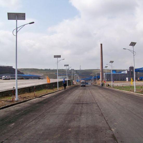 Single Twin Arm Solar LED Street/Road Garden Waterproof Outdoor Light with Panel