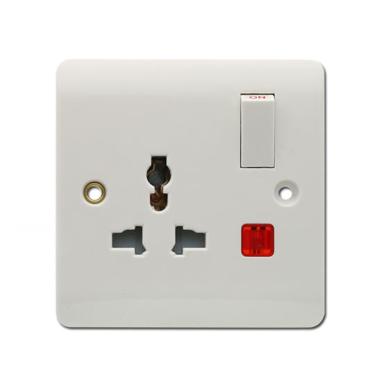 Multi Function Electrical Socket with Light Swithed Socket