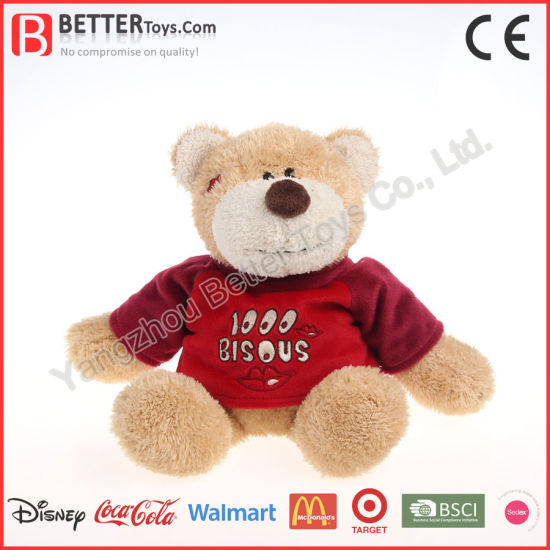 Christmas Decorations Wholesale Teddy Bear Plush Soft Children/Kids/Baby Toy