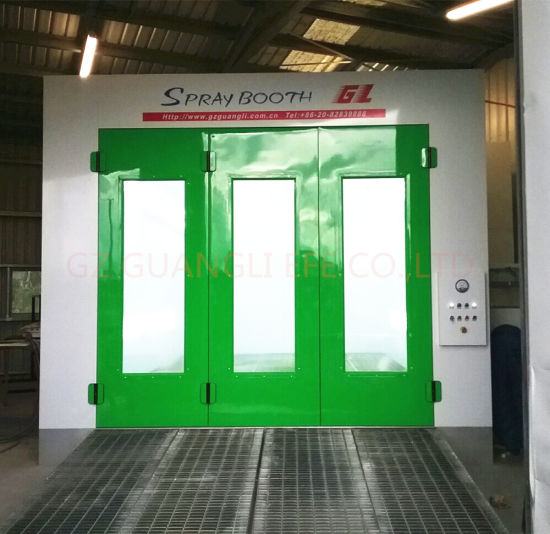 Ce Standard Downdraft Water Based Furniture Spray Painting Booth Manufacturers