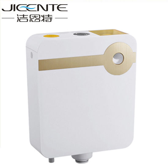 Toilet Cistern with Dual Flush Button