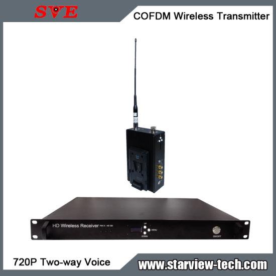 Cofdm HDMI Nlos Wireless Video Transmitter Two-Way Voice