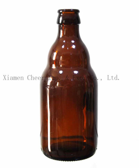Glass Bottle Beer Bottle Amber Color 330ml (PJ330-A3-17) pictures & photos