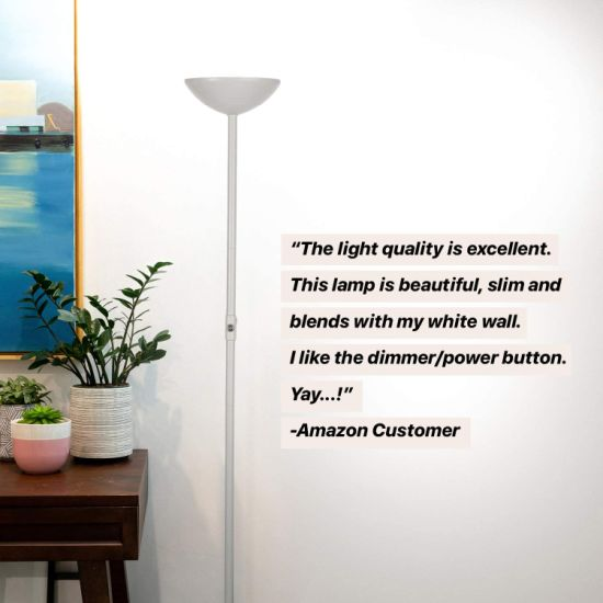 Led Floor Lamp Torchiere, What Floor Lamp Gives Off The Most Light