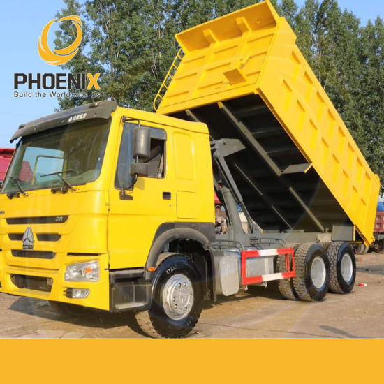 Strong Quality 10tyres Rhd HOWO Used Dump Truck with Promotion Price for Africa Market