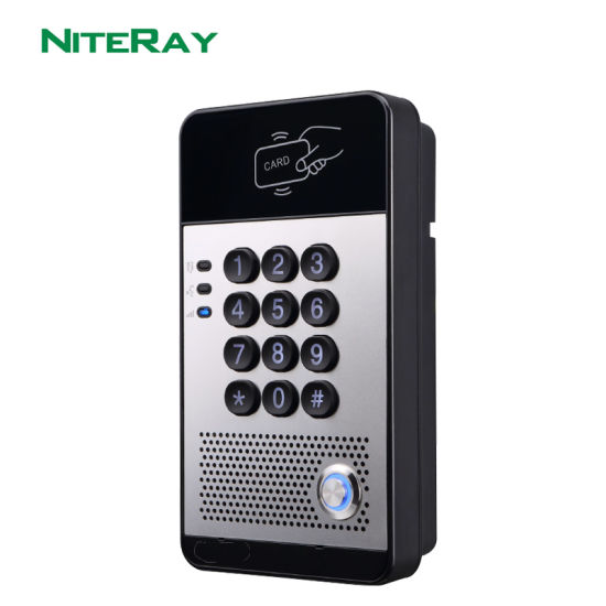 Audio Door Phone for Apartments Remote Control Intercom Door Phone for PBX