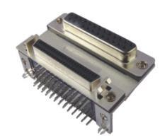 D-SUB Stack Connector 25/SCSI 50