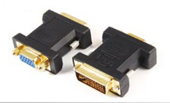 Gold Plated VGA to DVI (24+5) Adapter