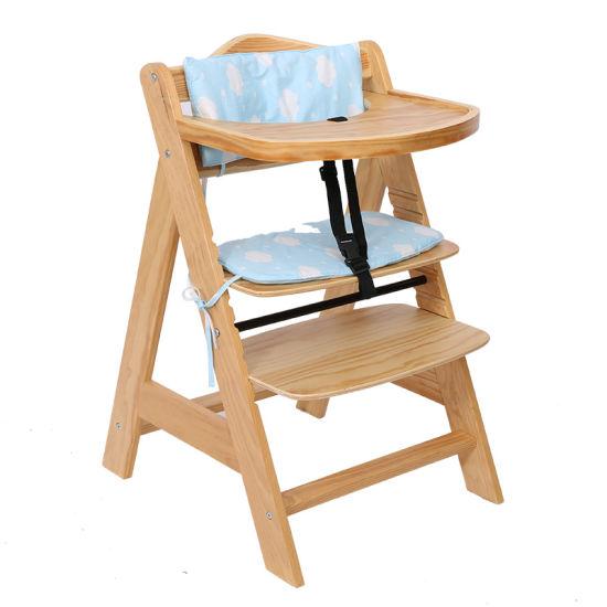 Cushion Baby Wooden High Chair, High Chair Cushion For Wooden Chairs