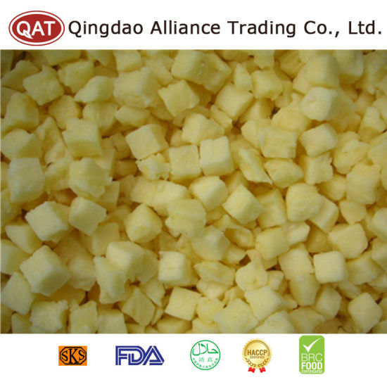 New Crop High Quality Frozen Diced Apple pictures & photos