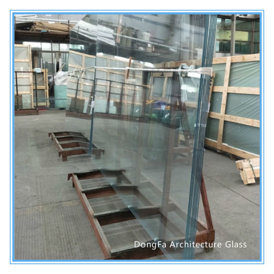 Jumbo Size Laminated Tempered Glass For Facade Structure