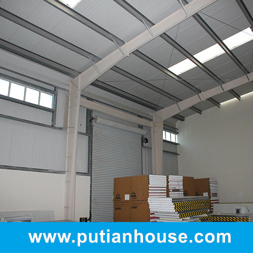 China Prefabricated Low Price Steel Structure Warehouse pictures & photos