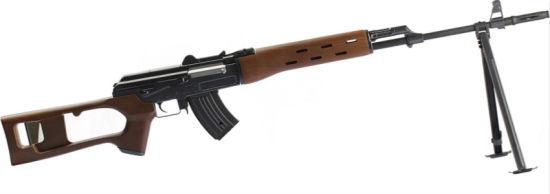 Tactical Metal Ak47 Assault Aeg Airsoft Rifle - Black