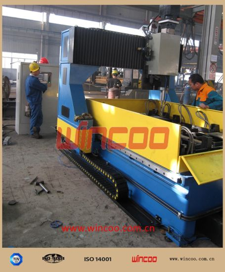 T / I / H Beam Automatic Welding Line/ Automatic Weldng Machine for Steel Structure/Beam Welding Equipments/ Steel Structure Fabrication Line/ Machines pictures & photos