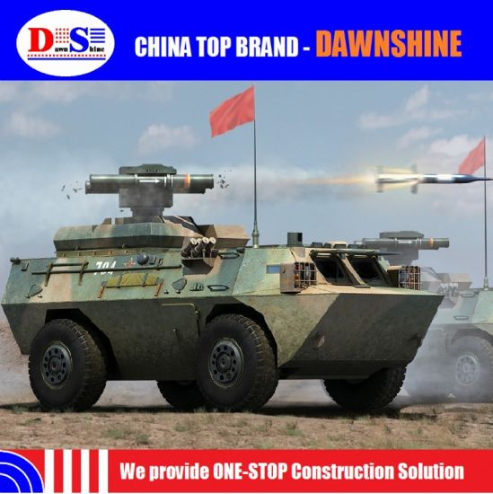 China Military Armoured Vehicle with Missile Launcher