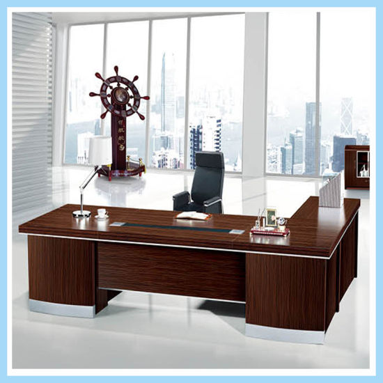 Made In China Modern Office Table Latest Design Wooden Executive
