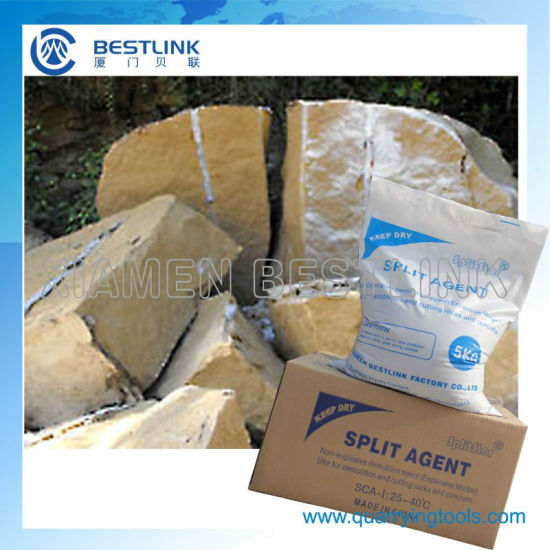 Soundless Safe Split Agent for Stone Cracking and Concrete Demolition pictures & photos