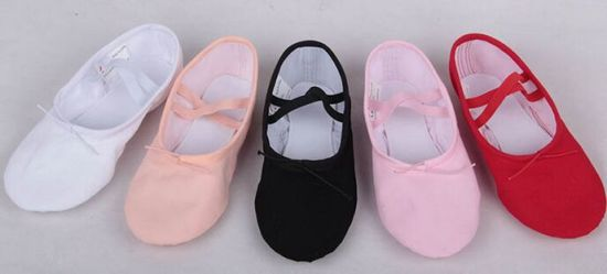 Soft Ballet Round Shoes Comfort Dance Shoes for Wholesale
