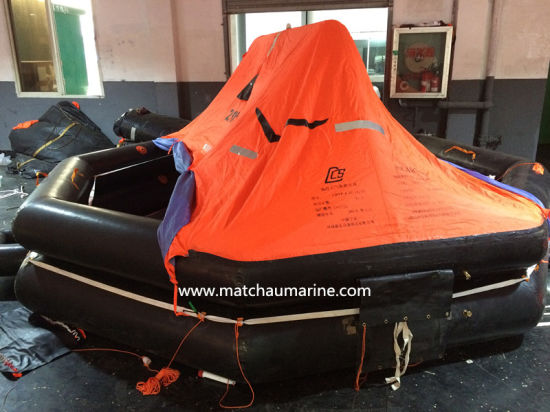 16 Persons Solas Med Inflatable Throw Overboard Liferaft pictures & photos