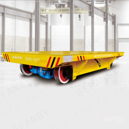 Remote Control Operation Heavy Material Eletcric Handling Vehicle on Rails pictures & photos