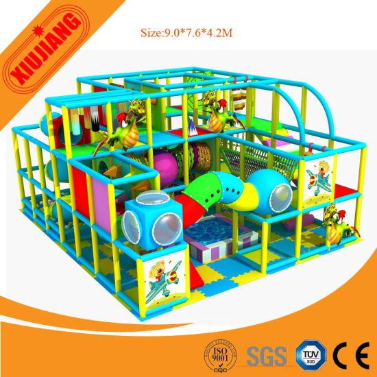 Safety Indoor Soft Play Equipment, Kids Indoor Game Center Playground