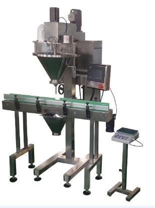 Automatic Dry Powder Filling Machine Line