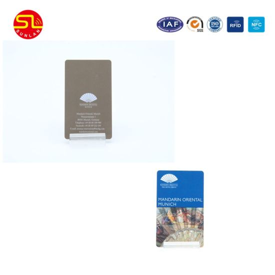 Contactless Smart Card with Ntag216 Chip pictures & photos