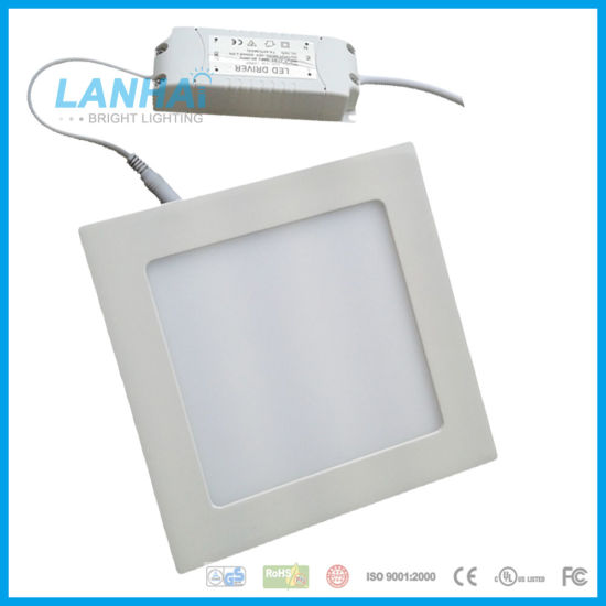 6 Inch 170mm 12W Recessed Ceiling Square LED Panel Light pictures & photos
